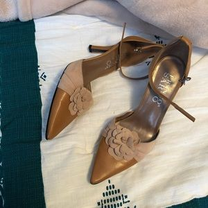 Franco Sarto Point Toe Heels